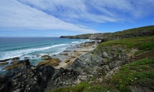 Zdjecie ANGLIA / Kornwalia / Lizard Point / Dzika plaża