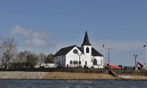 Zdjecie WALIA / Stolica / Cardiff / Cardiff Bay, kościół norweski