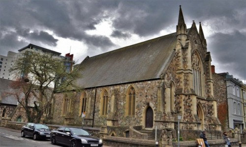 WALIA / Stolica / Cardiff / Cardiff, jeden z wielu kościołów