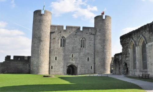 Zdjecie WALIA / Południe / Caerphilly / Caerphilly, zamek