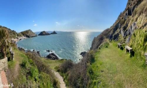 Zdjecie WALIA / Swansea. / Mumbles. / Panorama - Plaża Mumbles - Walia.