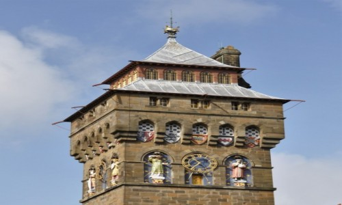 WALIA / Stolica / Cardiff / Cardiff, jedna z wież zamku