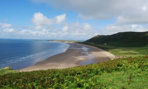 Zdjęcie WALIA / Gower Peninsula / Rhossili / Plaża