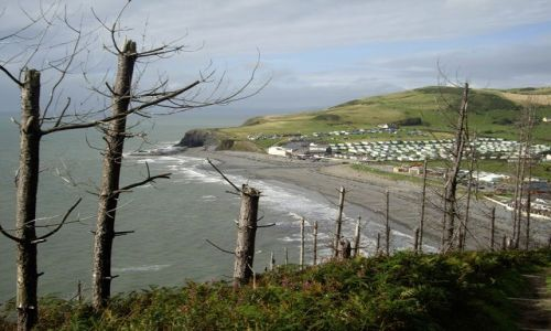 Zdjecie WALIA / brak / Aberystwyth / widok z góry