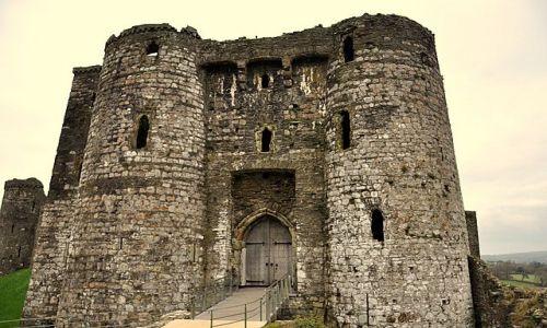 Zdjecie WALIA / Poludniowa Walia / Kidwelly / Ruiny zamku