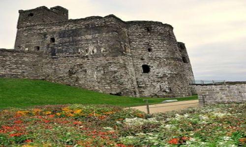 Zdjecie WALIA / Poludniowa Walia / Kidwelly / Ruiny zamku - 25 grudnia