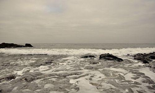 Zdjecie WALIA / Poludniowa Walia / Kidwelly / Zimowe morze
