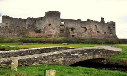 Zdjecie WALIA / Poludniowa Walia /  Okolice Amroth / Droga do ruin zamku