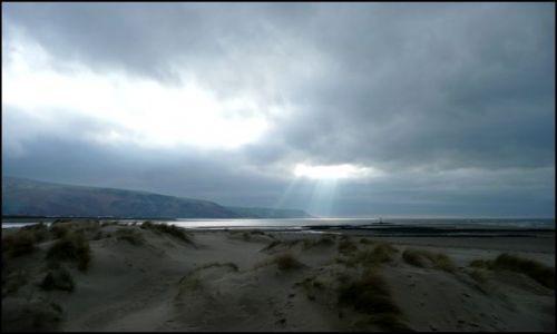 Zdjecie WALIA / Gwynedd / Barmouth / Światło z niebi