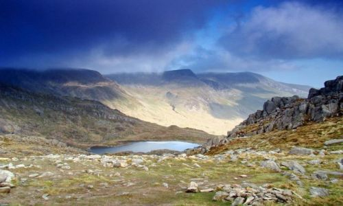 Zdjecie WALIA /  Welsh / Y-Tryfan  / Snowdonia National Park