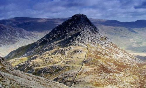 Zdjęcie WALIA / North- Welsh / Snowdonia National Park / Y-Tryfan  (917mnpm)