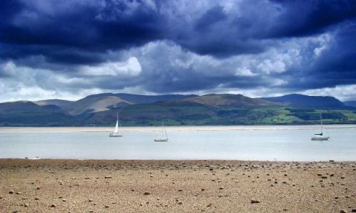 Zdjecie WALIA / North West-  Welsh / Beaumaris / Beaumaris (zatoczka  na Conwy Bay )