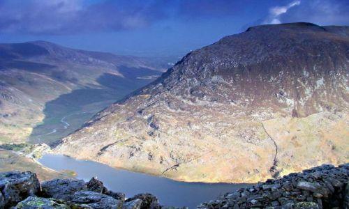 Zdjecie WALIA / North- Welsh / Snowdonia Ntional Park / Pen Yr  Ole  Wen  (978 mnpm) ---- i  jak to przeczytac ? !:)))))