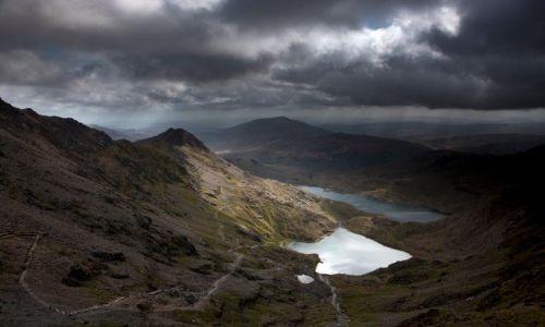 Zdjęcie WALIA / brak / Snowdonia / Widoczek z gory Snowdon