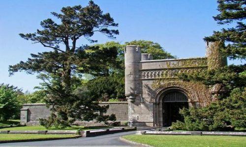Zdjęcie WALIA / North- Welsh / Llandygai / brama wjazdowa do Penrhyn Castle