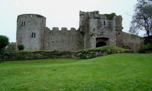 Zdjęcie WALIA / Cornwalia / Manorbier / Manorbier Castle