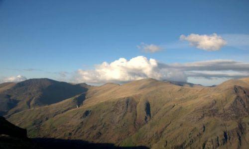 Zdjęcie WALIA / Polnocna Walia - Ssnowdonia / Najwyzsze gory Anglii i Walii / Gory w chmurach