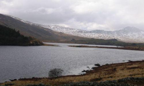 Zdjecie WALIA / Snowdonia / jezioro iiyod lake / zmierzajac do s