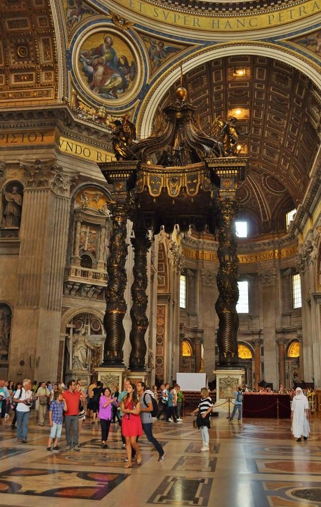 Zdjęcia: Rzym, Lazio, Bazylika św. Piotra, WATYKAN