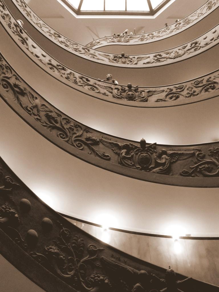 Zdjęcia: Muzea Watykańskie, scala a chiocciola per l'uscita, WATYKAN