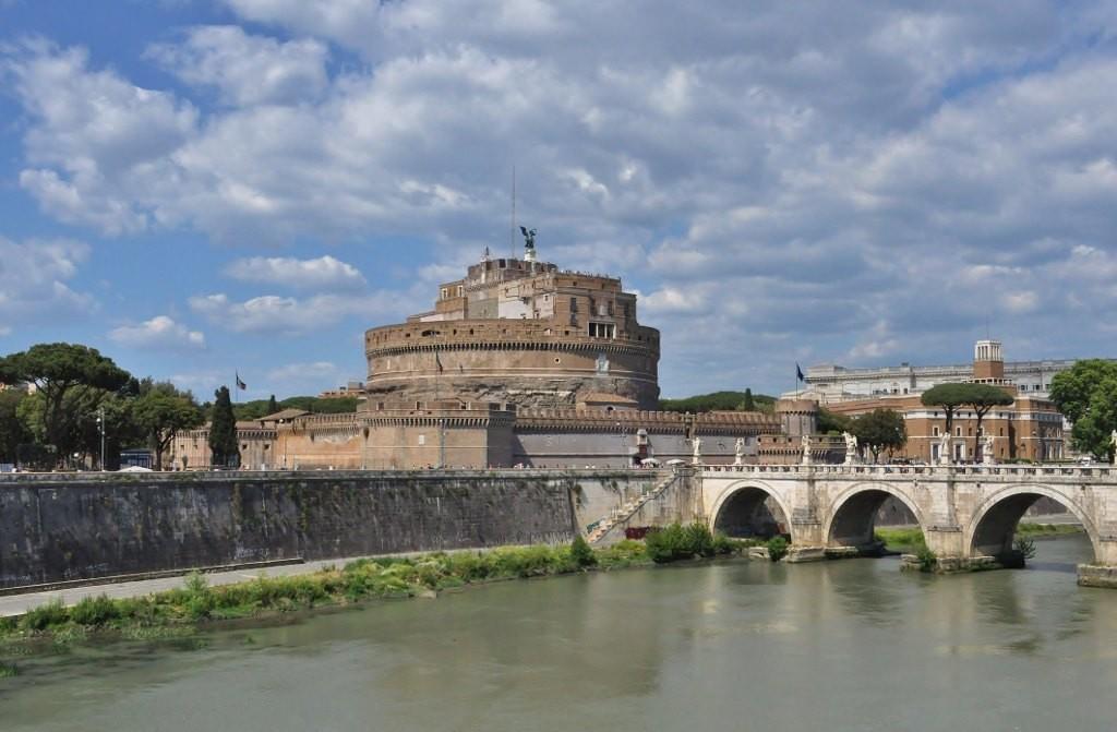 Zdjęcia: Rzym, Lazio, Watykan, zamek Anioła, WATYKAN