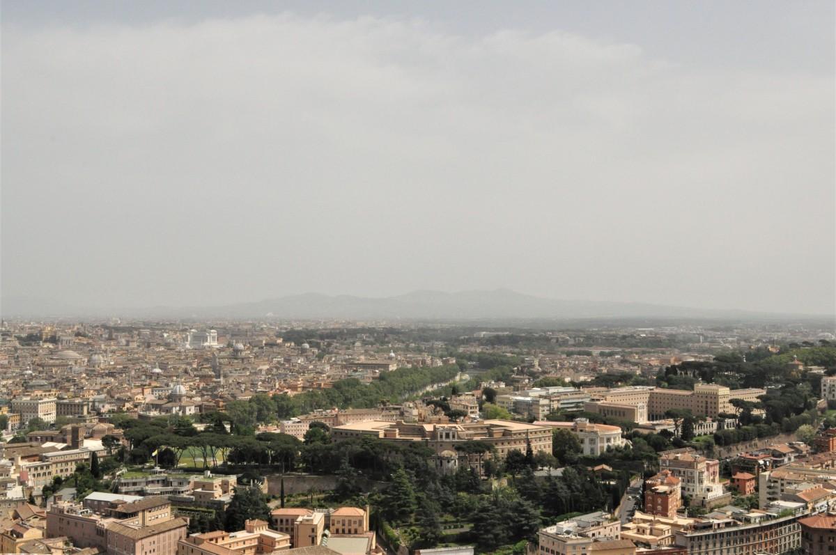 Zdjęcia: Watykan, Lazio, Watykan, widok na Rzym, WATYKAN