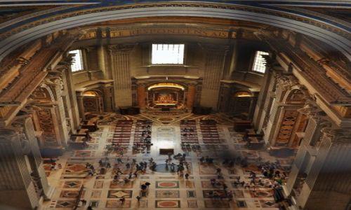 Zdjęcie WATYKAN / Lazio / Rzym / Bazylika św. Piotra- kopuła i widoki