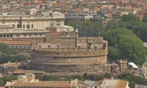 WATYKAN / Lazio / Rzym / Zamek Aniołów