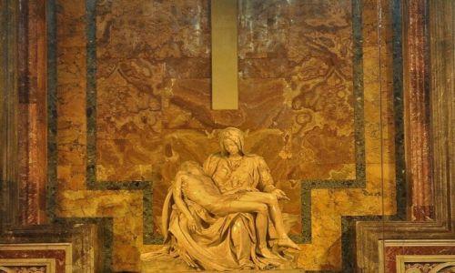 WATYKAN / Lazio / Rzym / Bazylika św. Piotra- Pieta