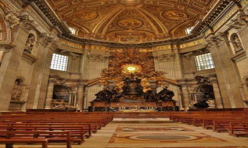 WATYKAN / Lazio / Rzym / Bazylika św. Piotra