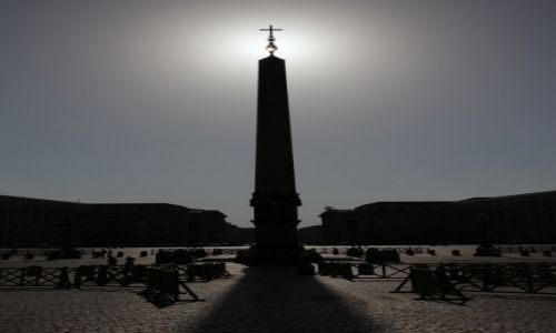 WATYKAN / Lacjum / Plac  Św. Piotra / Obelisk