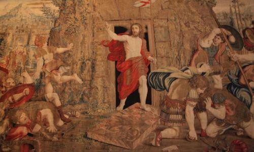 Zdjęcie WATYKAN / Muzea Watykanu / Sala gobelinowa / Zmartwychwstanie