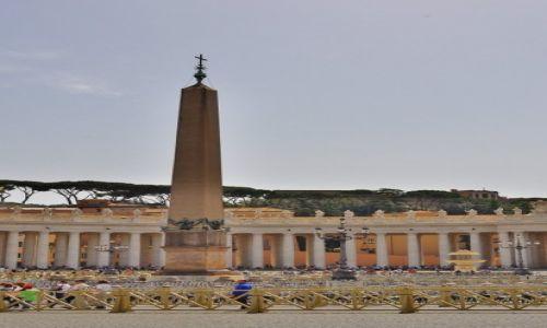 Zdjęcie WATYKAN / Lazio / Rzym / Rzym, na placu św. Piotra