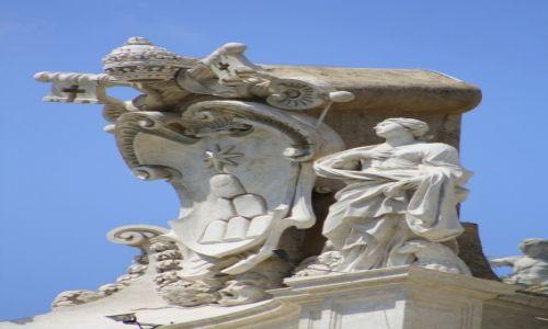 Zdjęcie WATYKAN / Rzym / Plac św Piotra / Posąg