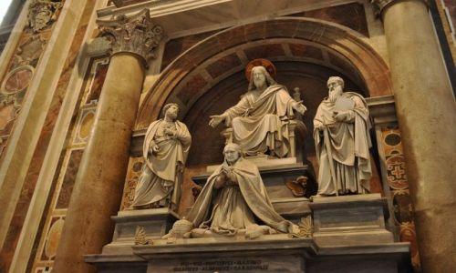 Zdjęcie WATYKAN / Lazio / Rzym / Rzym, bazylika św. Piotra