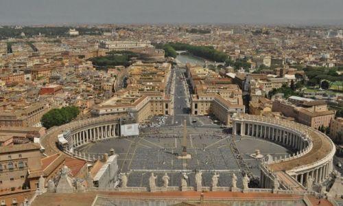 Zdjęcie WATYKAN / Lazio / Rzym / Rzym, plas św. Piotra