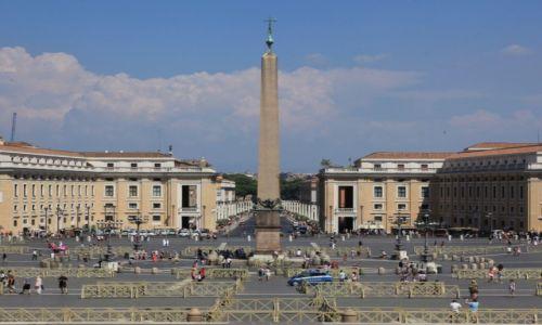 Zdjęcie WATYKAN / Bazylika św. Piotra / Widok z kopuły  / Plac św. Piotra