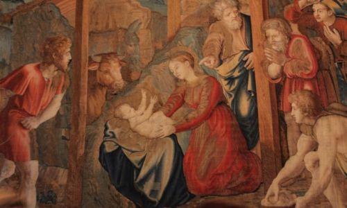 Zdjęcie WATYKAN / Muzea watykańskie / Sala gobelinów / Boże Narodzenie