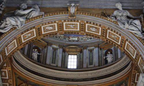 Zdjęcie WATYKAN / Lacium / Bazylika Świętego Piotra / Detale