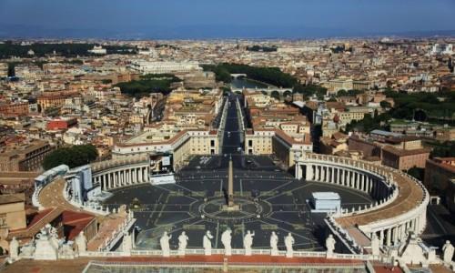 WATYKAN /  Lacjum   / Bazylika / Widok na Rzym