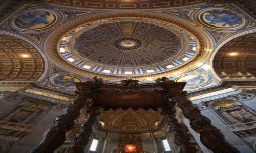 Zdjęcie WATYKAN / Rzym / Bazykila św. Piotra / Bazykila św. Piotra