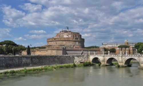 WATYKAN / Lazio / Rzym / Watykan, zamek Anioła