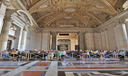 Zdjecie WATYKAN / Lazio / Rzym / Watykan, Bazylika św. Piotra
