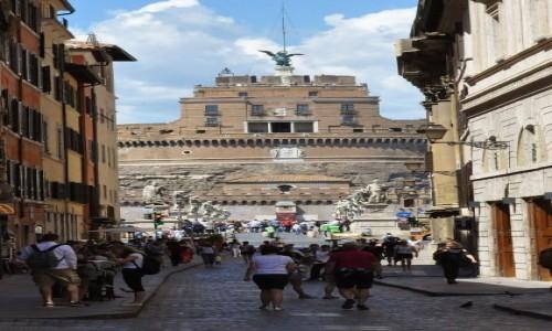 Zdjecie WATYKAN / Lazio / Rzym / Watykan, zamek Anioła