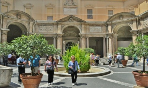 WATYKAN / Lazio / Rzym / Muzeum watykańskie