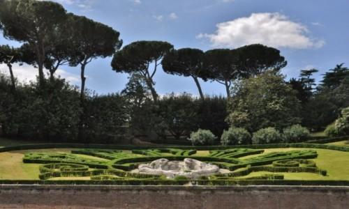 Zdjecie WATYKAN / Lazio / Rzym / Ogrody watykańskie