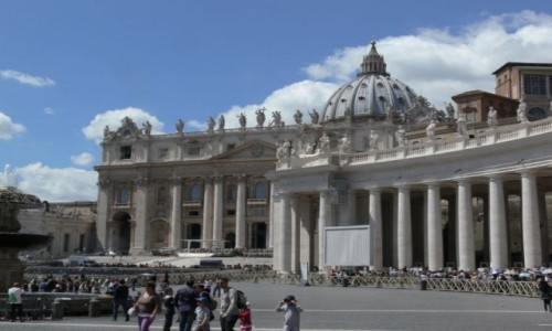 Zdjecie WATYKAN / Rzym / Bazylika św. Piotra / Kolumnada