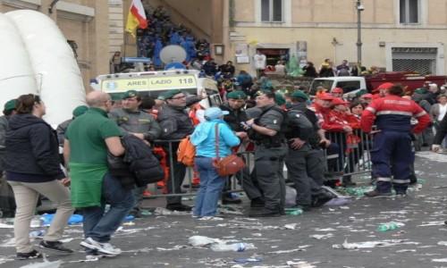 Zdjecie WATYKAN / Rzym / ulica / Grupa