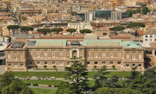 Zdjecie WATYKAN / Lazio / Watykan / Watykan, widok na muzeum