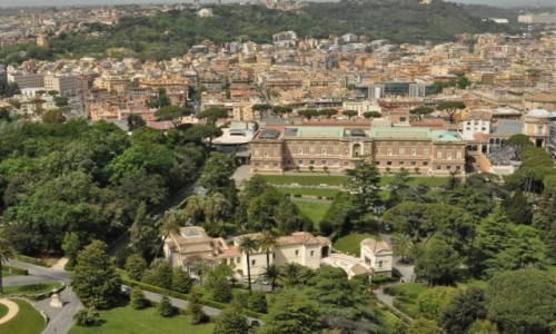 Zdjecie WATYKAN / Lazio / Watykan / Watykan, ogrody